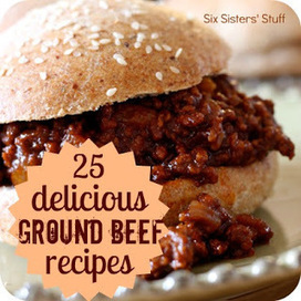 25 Delicious Ground Beef Recipes | Food Recipes | Scoop.it