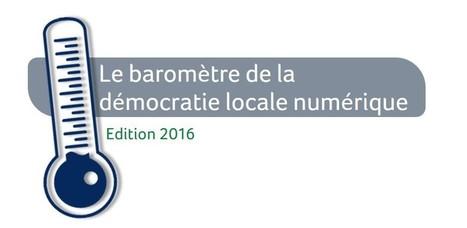 Baromètre de la démocratie locale numérique. | Collectivités et numérique | Scoop.it