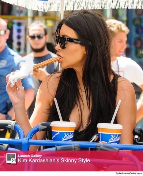 Kim Kardashian Deepthroats A What?!?!   Celebrity Gossip   Scoop.it