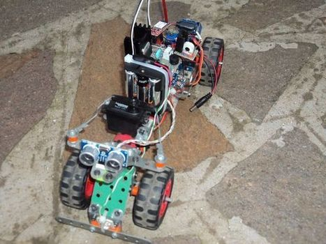 RoverBluetooth: Arduino-based Bluetooth car | Raspberry Pi | Scoop.it