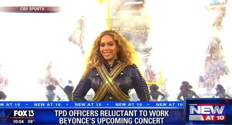Tampa police refusing to work sold out Beyoncé stadium show | Criminal Justice | Scoop.it