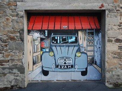 Street-art à Brest - Site participatif sur la diversité du graphisme à Brest | Coopération, libre et innovation sociale ouverte | Scoop.it