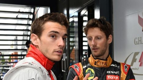 Grosjean to run Bianchi-inspired helmet in Monaco | F 1 | Scoop.it
