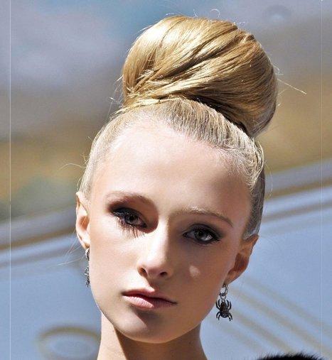 Chignon tendance : 36 modèles de chignons | lea | Scoop.it