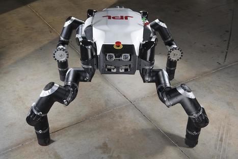 JPL's RoboSimian to compete in DARPA Robotics Challenge Finals | Heron | Scoop.it