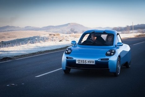 Riversimple launches Rasa, a hydrogen-powered city car for the masses | Cool Future Technologies | Scoop.it