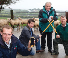 Smartphone reads and updates sheep ear tag data | Farming News | Scoop.it
