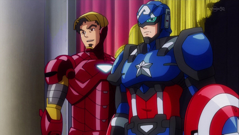 The Avengers (and other Marvel Heroes) in Their Official Anime Forms | Anime | Scoop.it