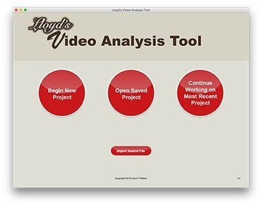 Lloyd's Video Analysis Tool | aect | Scoop.it