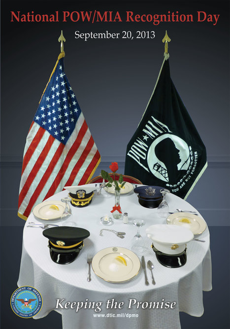 North Little Rock CAVHS Hosts Annual POW/MIA Event on 27 Sept at 1100 hrs | Veterans: Bringing Them Home and Taking Care of Them | Scoop.it