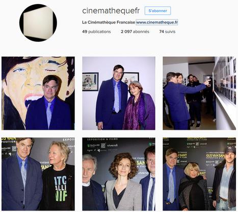+17.7% d'abonnés Instagram pour la Cinémathèque française en avril 2016. | Clic France | Scoop.it