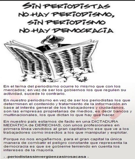 ESPAÑA - Cuando el PERIODISMO se convierte en PANFLETO y la DEMOCRACIA en SPOT PUBLICITARIO | MOVIMIENTOS SOCIALES | Scoop.it