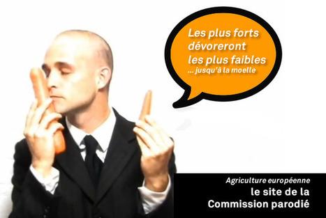 50 ans de la PAC : le site de la commission européenne parodié | Occupy Belgium | Scoop.it