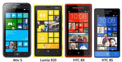 Comparativa de tamaños en Windows Phone 8 | Mobile Technology | Scoop.it