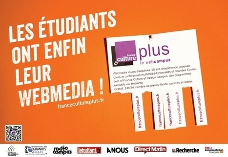 Les étudiants ont enfin leur webmedia ! - Information - France Culture | Radio 2.0 (En & Fr) | Scoop.it
