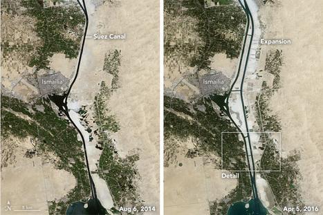 Le « nouveau canal de Suez » -Éduscol HG | CAPLP lettres histoire : ressources pour les questions au concours | Scoop.it