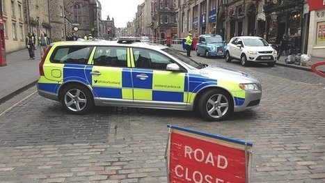 Road closed after injured man found   Today's Edinburgh News   Scoop.it