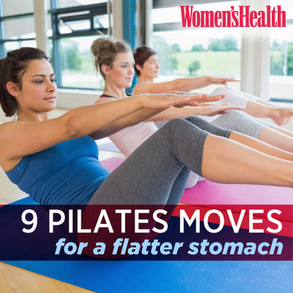 9 Pilates Moves For A Flatter Stomach | ✪ FITNESS MAGAZINE ✪ | Scoop.it