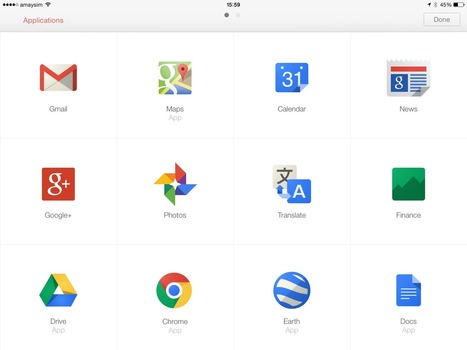 Google Apps for iPad Users - Summit Resources   mrpbps iDevices   Scoop.it