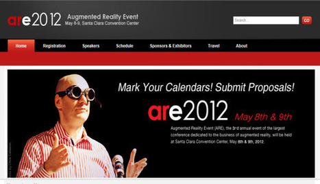 Augmented Reality Event 2012 – ARE 2012 Opens Call For Proposals | QR Code Press | Augment My Reality | Scoop.it