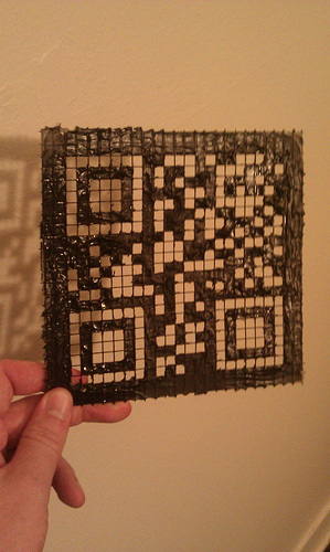 Fred Trotter » Blog Archive » Making QR code stencils | AniseSmith QR codes | Scoop.it