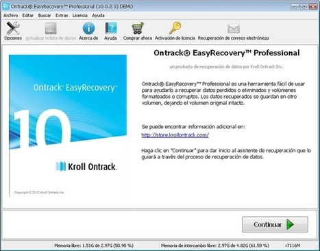 Software professionale per il recupero dati: Ontrack EasyRecovery Professional | recupero dati | Scoop.it