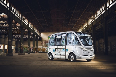 1st Autonomous Electric Vehicle In Production Hits The Road! | #Automotive #Applications | Scoop.it