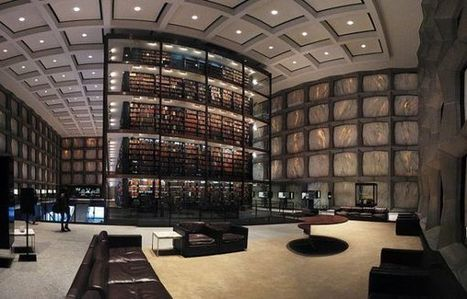 The Beautiful Beinecke Rare Book and Manuscript Library ...   Library   Scoop.it