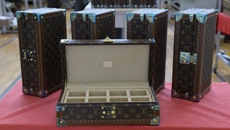 Louis Vuitton prépare sa première valise... connectée   Marketing, Retail, Shopper,  Luxe,  Expérience Client, Smart Store, Future of Retail, Omnicanal, Communication, Digital   Scoop.it