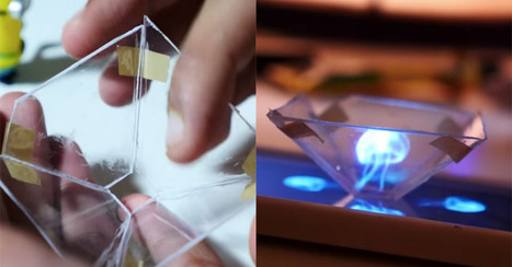 Here's how you can generate a 3D hologram with your smartphone | Maker | MakerSpaces | MakerED | Mobile App News Digest | Scoop.it