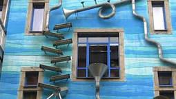 Découvrez une drôle de gouttière musicale sur l'immeuble Funnel Wall de Dresden | DESARTSONNANTS - CRÉATION SONORE ET ENVIRONNEMENT - ENVIRONMENTAL SOUND ART - PAYSAGES ET ECOLOGIE SONORE | Scoop.it