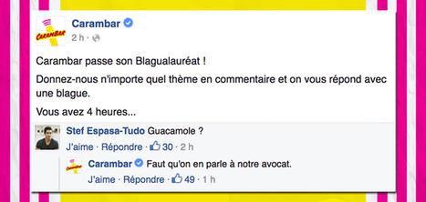 Carambar crée des blagues pour chaque commentaire sur Facebook   Sélections de Rondement Carré sur                                                           la créativité,  l'innovation,                    l'accompagnement  du projet et du changement   Scoop.it