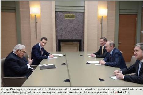 CNA: Kissinger en el Kremlin: incluye a Rusia en el nuevo orden multipolar | La R-Evolución de ARMAK | Scoop.it