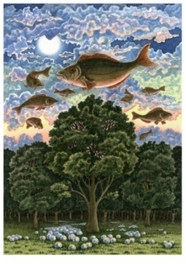 Artwork: Fish over Forest - Open House Art | Art - Crafts - Design | Scoop.it