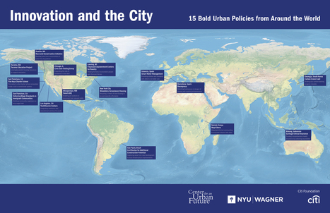 Innovation and the City   Center for an Urban Future (CUF)   Smart Cities in Spain   Scoop.it