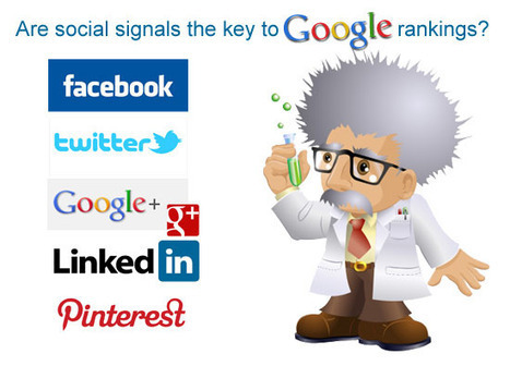 Are Social Signals The Key to Google Rankings? | Marketing&Advertising | Scoop.it