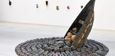 Au Bourget, Romuald Hazoumé se joue des codes de l'art contemporain | CntMprN | Scoop.it