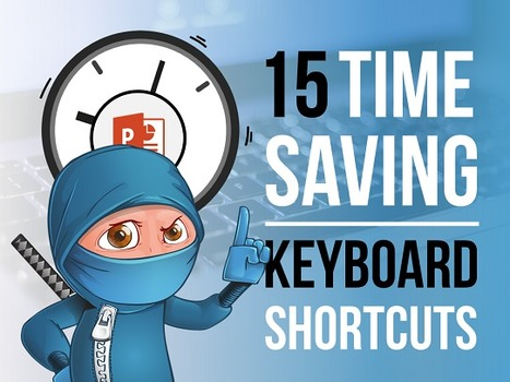 The 15 Best PowerPoint Keyboard Shortcuts of All Time! | Digital Presentations in Education | Scoop.it