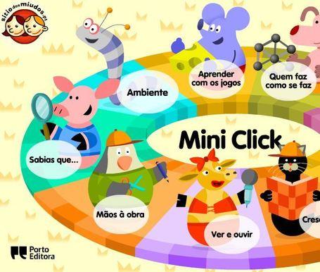 Sítio dos Miúdos - Mini Click   Jogos n@ Pré   Scoop.it