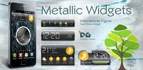 HD Metallic Widgets v4.4 (paid) apk download   ApkCruze-