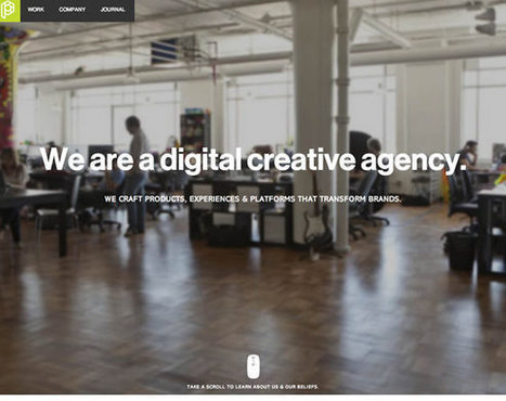 18 Websites that Take Scrolling to the Next Level | Inspiration #websitedesign | Technologies for Teaching, Learning & Collaborating | Scoop.it