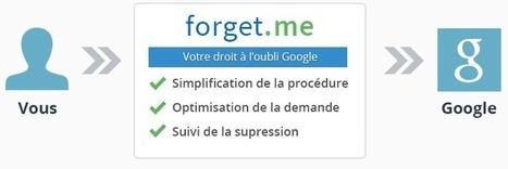 Effacer ses traces sur Google grâce à Forget.me   Exile digital is it (still) possible?   Scoop.it