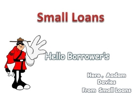 Small Loans - Response Your Short-Term Needs With Help Of Small Loans! | Loans For People On Benefits | Scoop.it