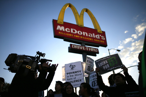Breaking: McDonald's workers mount class action suits in three states | News in english | Scoop.it