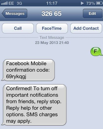 Hack any Facebook account in under a minute, by sending just one SMS | Mobile Commerce | Scoop.it