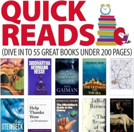 55 great books under 200pages [infographic] | Ray's Book Stuff | Scoop.it
