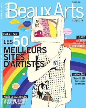 NetPublic » Les 50 meilleurs sites d'artistes, un dossier de Beaux Arts magazine | French+ | Scoop.it