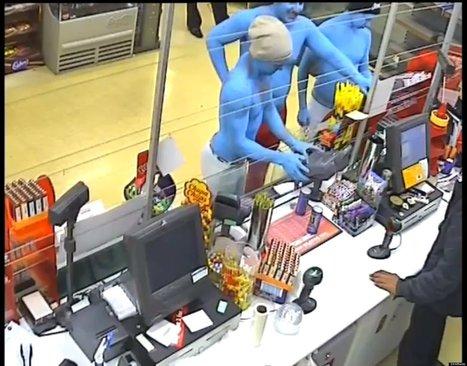 Smurfs Arrested For Assault | Strange days indeed... | Scoop.it