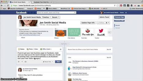 UPDATE - How to create a Link-Share post on Facebook   Techno - SEO - Recherche   Scoop.it