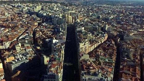 Un «drone» graba el vídeo más espectacular del centro de Madrid | Managing Technology and Talent for Learning & Innovation | Scoop.it